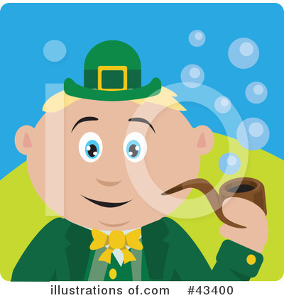 Leprechaun Clipart #43400 by Dennis Holmes Designs