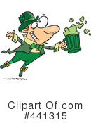 Leprechaun Clipart #441315 by toonaday