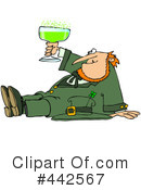 Royalty-Free (RF) Leprechaun Clipart Illustration #442567