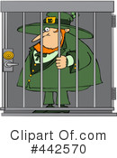 Royalty-Free (RF) Leprechaun Clipart Illustration #442570