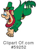 Royalty-Free (RF) Leprechaun Clipart Illustration #59252