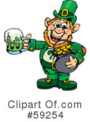 Royalty-Free (RF) Leprechaun Clipart Illustration #59254