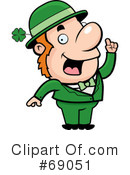 Royalty-Free (RF) Leprechaun Clipart Illustration #69051
