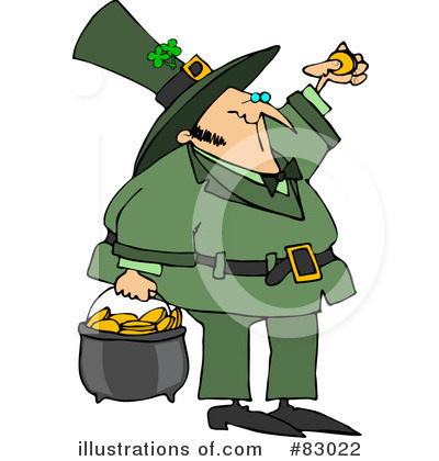 Leprechaun Clipart #83022 by djart
