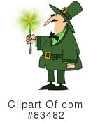 Royalty-Free (RF) Leprechaun Clipart Illustration #83482