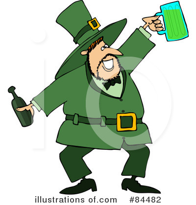 Leprechaun Clipart #84482 by djart