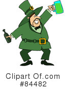 Royalty-Free (RF) leprechaun Clipart Illustration #84482