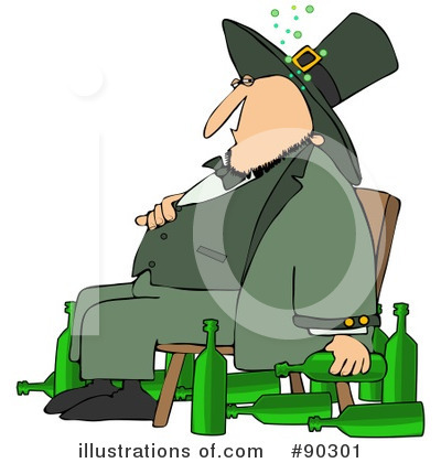 Leprechaun Clipart #90301 by djart