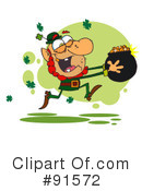 Royalty-Free (RF) Leprechaun Clipart Illustration #91572