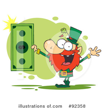 Finance Clipart #92358 by Hit Toon