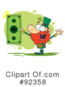 Royalty-Free (RF) Leprechaun Clipart Illustration #92358
