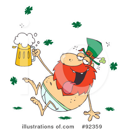 St Patricks Day Clipart #92359 by Hit Toon