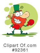Royalty-Free (RF) Leprechaun Clipart Illustration #92361