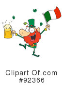Leprechaun Clipart #92366 by Hit Toon