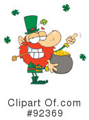 Royalty-Free (RF) Leprechaun Clipart Illustration #92369