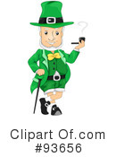 Royalty-Free (RF) Leprechaun Clipart Illustration #93656