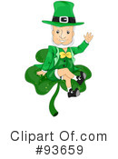 Royalty-Free (RF) Leprechaun Clipart Illustration #93659