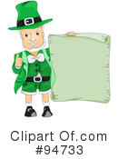 Leprechaun Clipart #94733 by BNP Design Studio