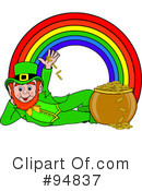 Royalty-Free (RF) Leprechaun Clipart Illustration #94837