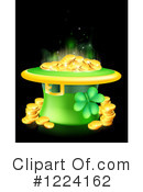 Leprechaun Hat Clipart #1224162 by AtStockIllustration