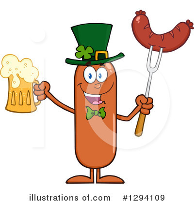 Beer Clipart #1294109 by Hit Toon