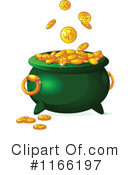 Royalty-Free (RF) Leprechauns Gold Clipart Illustration #1166197