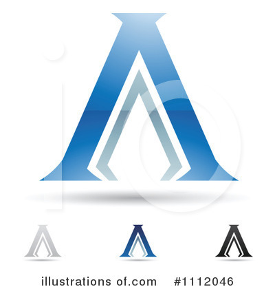 Letter A Clipart #1112046 by cidepix