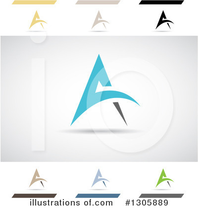 Letter A Clipart #1305889 by cidepix