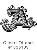 Letter A Clipart #1336139 by Vector Tradition SM
