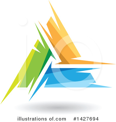 Royalty-Free (RF) Letter A Clipart Illustration by cidepix - Stock Sample #1427694