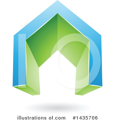 House Clipart #1435706 by cidepix