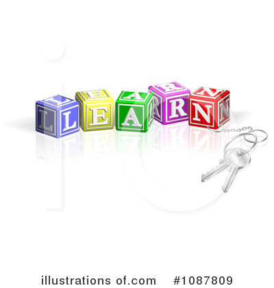 Alphabet Clipart #1087809 by AtStockIllustration