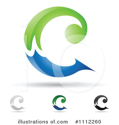 Royalty-Free (RF) Letter C Clipart Illustration by cidepix - Stock Sample #1112260