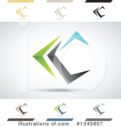 Letter C Clipart #1345807 by cidepix