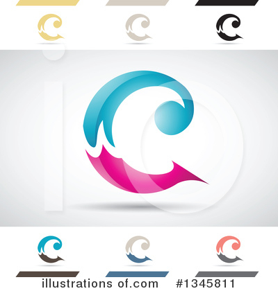Letter C Clipart #1345811 by cidepix