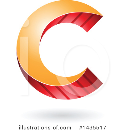 Letter C Clipart #1435517 by cidepix