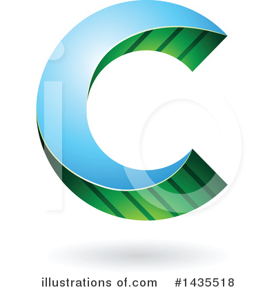 Letter C Clipart #1435518 by cidepix