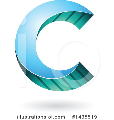 Letter C Clipart #1435519 by cidepix