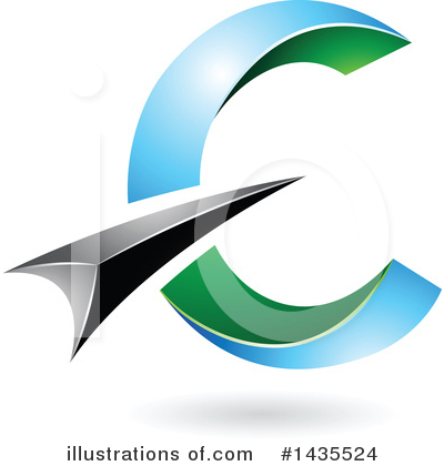 Letter C Clipart #1435524 by cidepix
