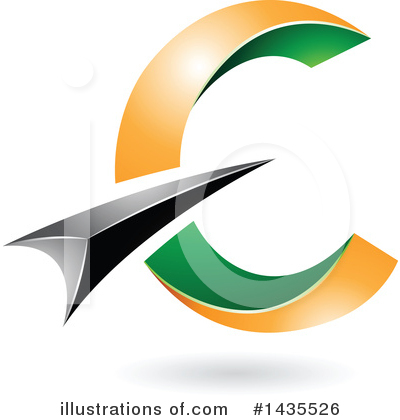 Letter C Clipart #1435526 by cidepix