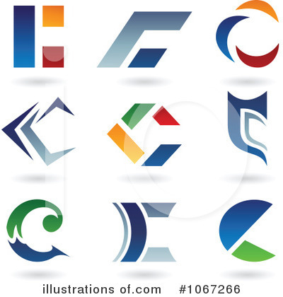 Letter Logo Clipart #1067266 by cidepix