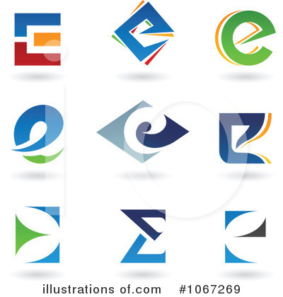 Letter Logo Clipart #1067269 by cidepix