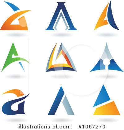 Royalty-Free (RF) Letter Logo Clipart Illustration by cidepix - Stock Sample #1067270