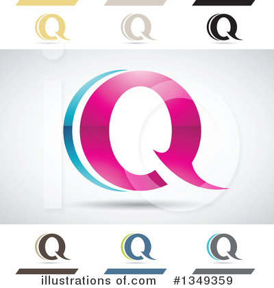 Letter Q Clipart #1349359 by cidepix