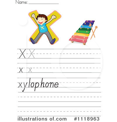 Xylophone Clipart #1118963 by Graphics RF