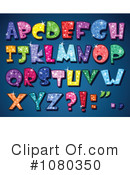 Royalty-Free (RF) letters Clipart Illustration #1080350