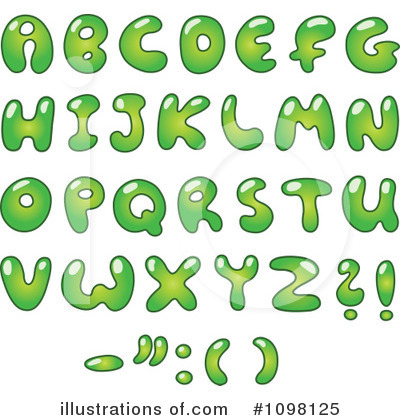 Letters Clipart #1098125 by yayayoyo