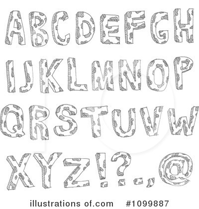Letters Clipart #1099887 by yayayoyo