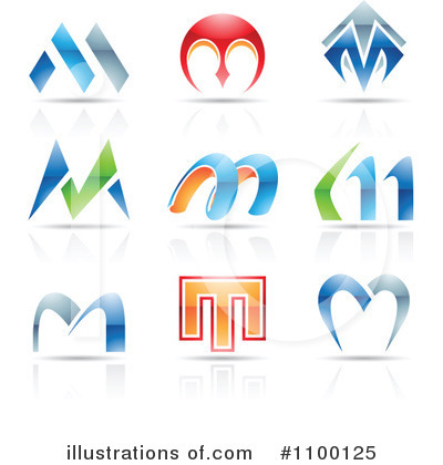 Letter Logo Clipart #1100125 by cidepix