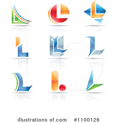 Letter Logo Clipart #1100126 by cidepix
